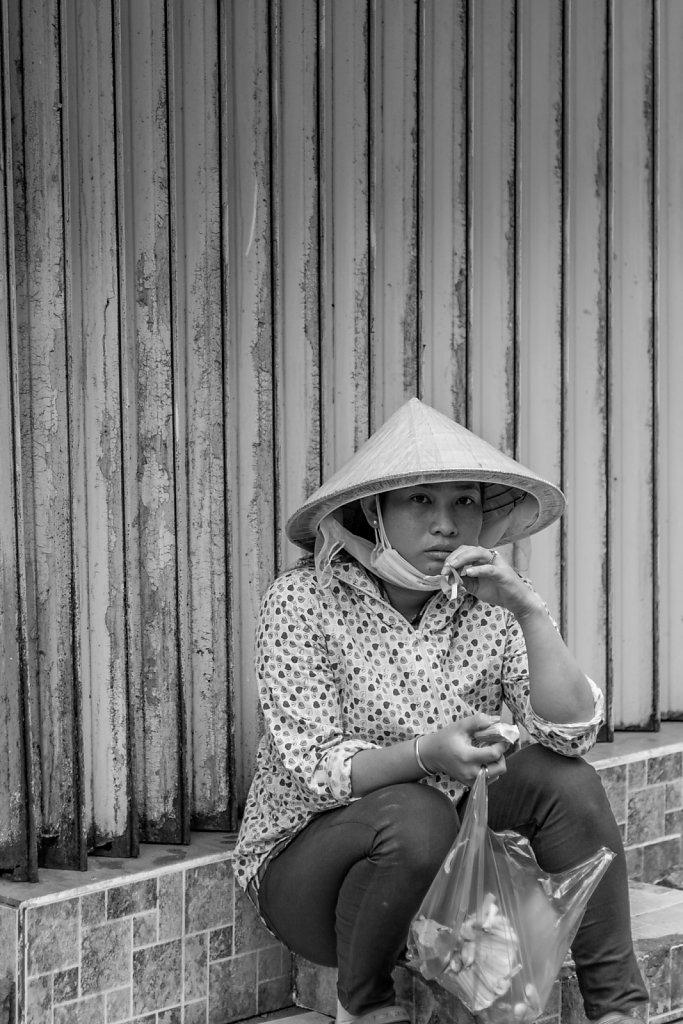 Kurze Pause in Saigon, Vietnam 2015